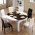 柏曼詩テーブル折りたみ伸縮鋼化ガラステーブルモダンシンプテーブルテーブルテーブルテーブルテーブルテーブルセット1.35 m電磁炉1.35 mテーブル4椅子なし