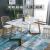 テーブルとテーブルの北欧大理石テーブル長方形テーブル家庭用リビングレジャー簡易テーブルテーブル軽贅沢テーブルテーブルセット160*80*75
