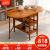 越茂小タワー纯木折りたたテーブル家庭用多机能可动シンプロモーションテーブルセットリビングで食事をするテーブルと砂糖色