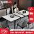 温斯丹尼イタリア輸入岩板テーブルテーブル小タイプが伸縮できます。折り畳み式軽い贅沢なテーブルとテーブルとセットになっています。家庭用テーブルのホワイトワックス木純木オーダーメード大理石2129 Mから1.5 Mまでの六椅子/予約金
